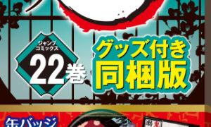 『鬼滅の刃 22巻』【10月2日発売!】特装版は缶バッジ8個セットと小冊子「復刻版 鬼殺隊報 特別報告書」付!